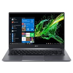 Лаптоп Acer Swift 3 SF314-57-510L с Intel Core i5-1035G1 (1.0/3.6 GHz, 6M), 8 GB, 512GB M.2 NVMe SSD, Intel UHD Graphics, Windows 10 Home 64-bit, тъмносив