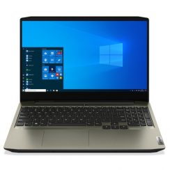 Лаптоп Lenovo IdeaPad Creator 5 15IMH05 с Intel Core i7-10750H (2.6/5GHz, 12M), 16 GB, 1TB SATA 5400rpm, 256GB M.2 NVMe SSD, NVIDIA GTX 1650 Ti – 4 GB GDDR6, Windows 10 Pro 64-bit, зелен