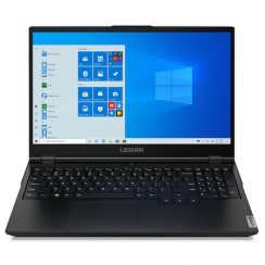 Лаптоп Lenovo Legion 5 15IMH05 с Intel Core i5-10300H (2.50/4.50 GHz, 8M), 16 GB, 1TB M.2 NVMe SSD, NVIDIA GTX 1650 4GB GDDR6, Windows 10 Pro 64-bit, черен